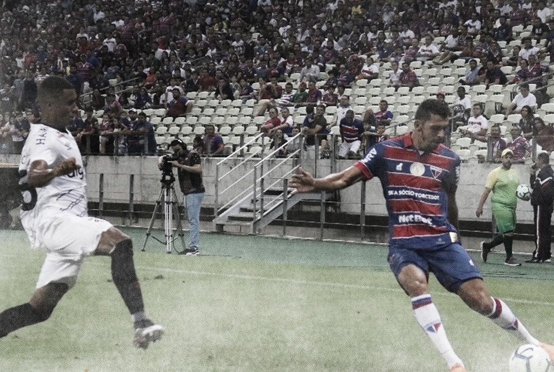 No confronto de ida das oitavas, Fortaleza e Athletico ficam no empate no Castelão
