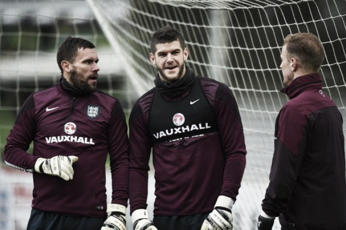 Fraser Forster hoping for 'icing on the cake' on England return