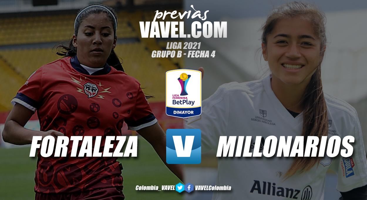 Previa Fortaleza vs Millonarios: ambos a sumar tras su último encuentro