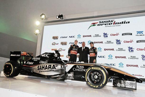 Force India apresenta novas cores e novo nariz para 2015