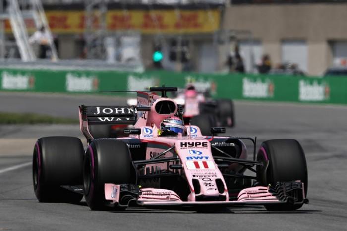 Optimismo en Force India para el GP de Azerbaiyán