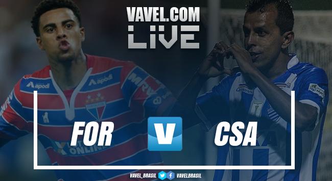 Resultado Fortaleza 1 x 1 CSA na série B do Campeonato Brasileiro 2018