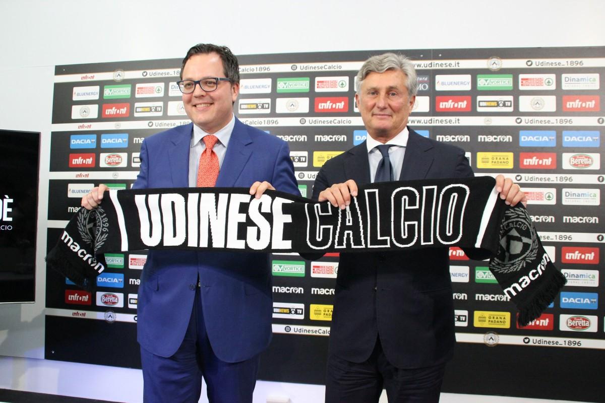 """Udinese - Presentato Pradè: """"Mi è stato chiesto di controllare, seguire e gestire la famiglia Udinese"""""""
