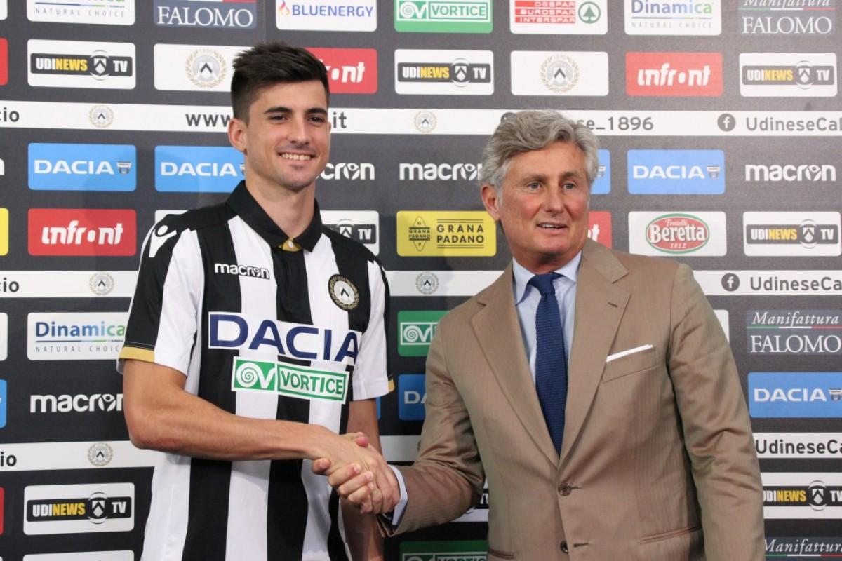 """Udinese - Presentato Pussetto: """"L'Udinese crede molto in me, voglio crescere e ripagare la fiducia"""""""
