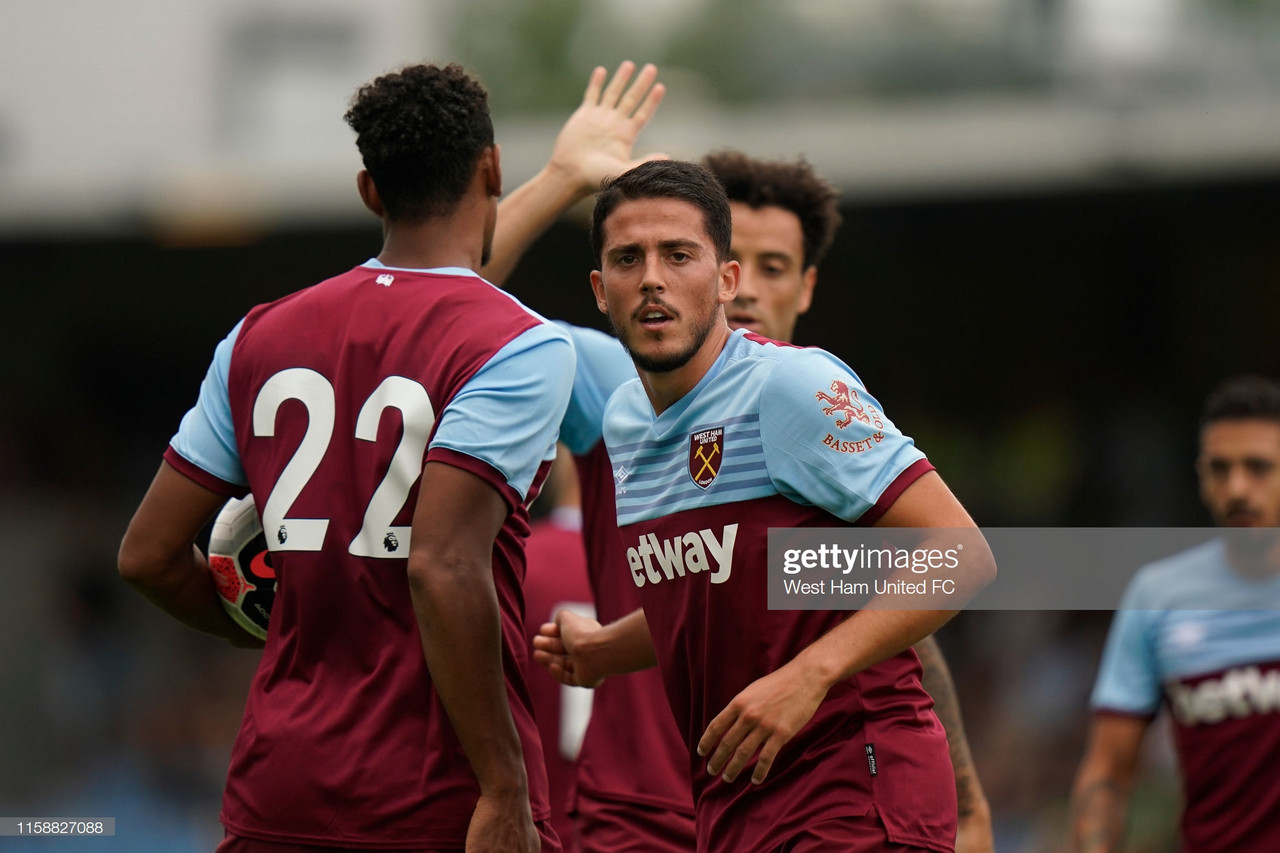 West Ham 5-3 Hertha BSC: Fornals and Haller off the mark for five-star Hammers