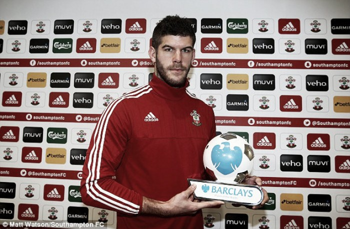 Fraser Forster named February's Barclays Premier League Player of the Month
