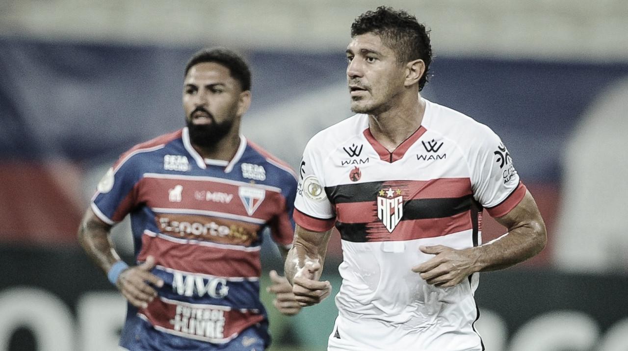 Fortaleza tem gol anulado e pressiona Atlético-GO, mas empata na Arena Castelão