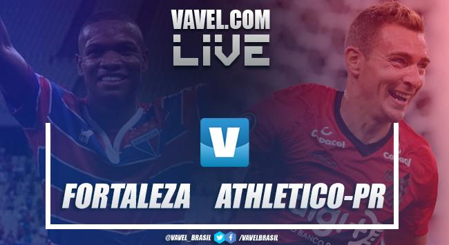 Resultado Fortaleza 2 x 1 Athletico-PR pelo Brasileirão