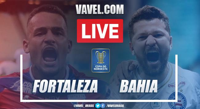Gols e melhores momentos de Fortaleza 2 x 1 Bahia pela Copa do Nordeste 2021