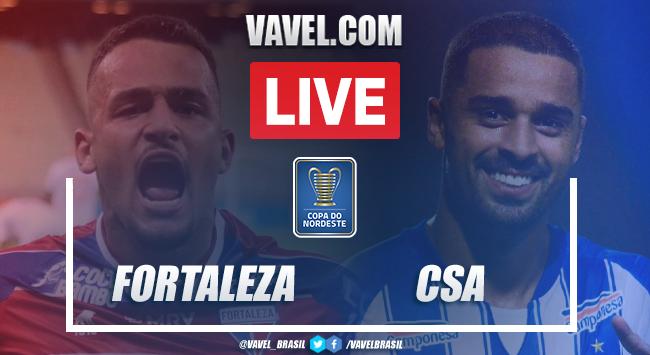 Gols e melhores momentos Fortaleza 2 x 1 CSA pela Copa do Nordeste 2021