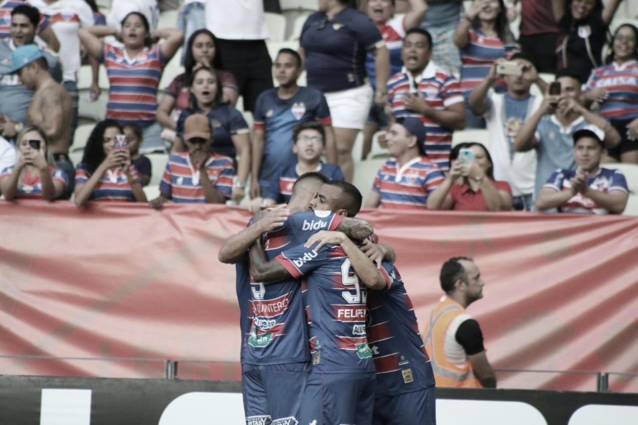 Fortaleza vence Goiás e entra na zona de classificação para a Copa Sul-Americana
