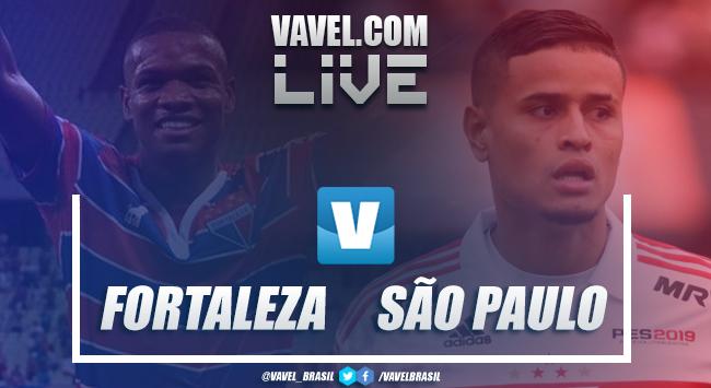 Melhores momentos Fortaleza x São Paulo pelo Campeonato Brasileiro (0-1)