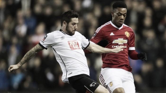 Previa Manchester United - Derby County: premio consuelo