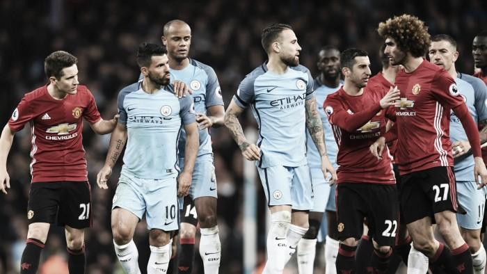 El derbi de Manchester, un duelo con historia