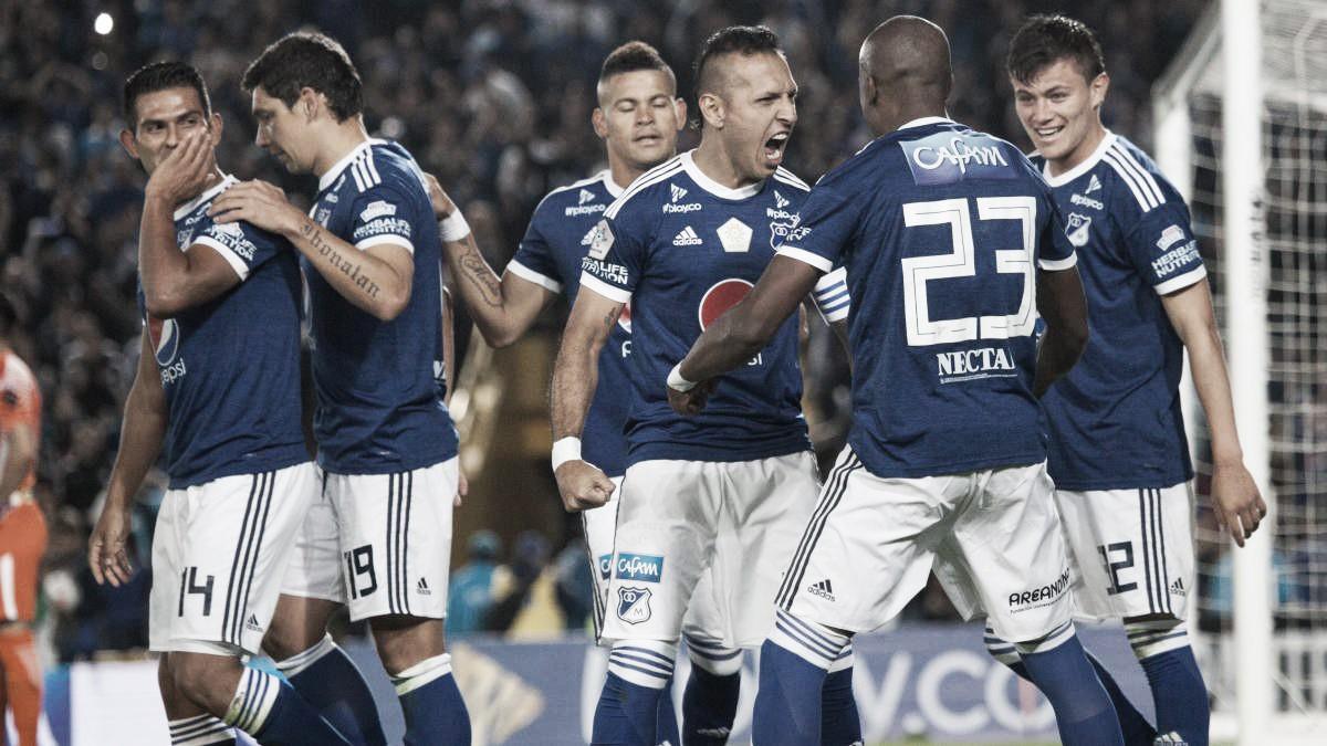 Estos son los convocados de Millonarios ante Corinthians