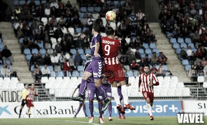 Valladolid - Almería: misma situación, distintas sensaciones