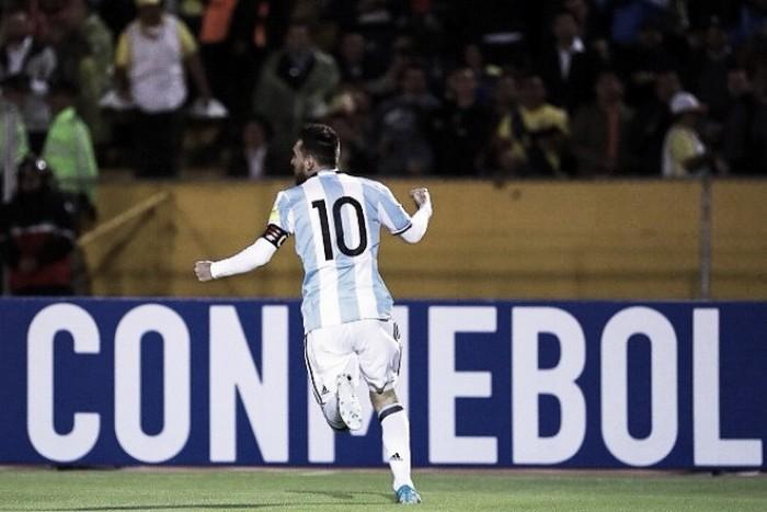 Lionel Messi se vistió de salvador y Argentina está en el Mundial
