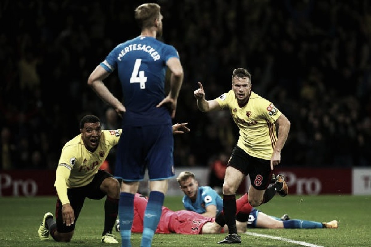 Resultado Arsenal x Watford pela Premier League (3-0)