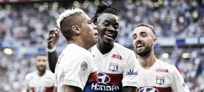 Un Mariano intratable le da la victoria al Lyon