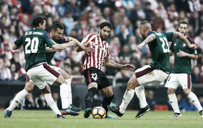 Athletic Bilbao decepciona e fica no empate com Osasuna no San Mamés