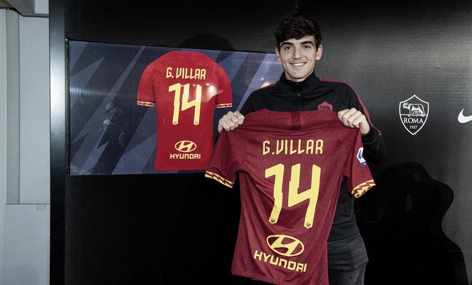 Gonzalo Villar, nuevo jugador de la Roma | Foto: AS Roma