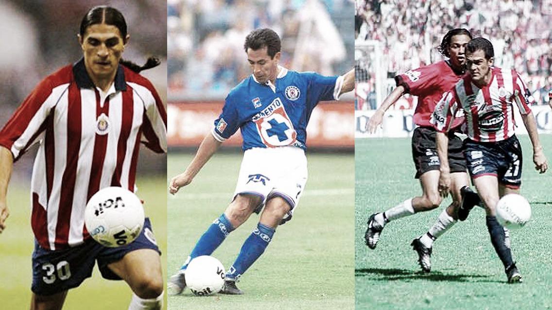 Jugadores más destacados que han vestido las playeras de Chivas y Cruz Azul
