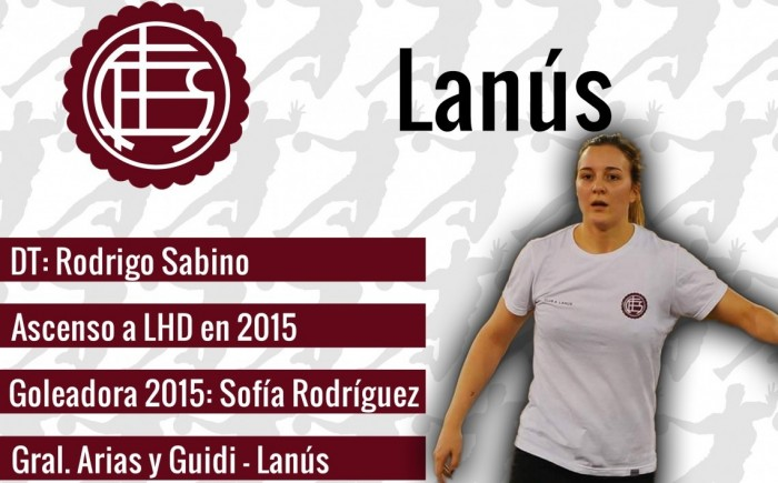 Guía VAVEL LHD 2016: Lanús: Micaela Barresi