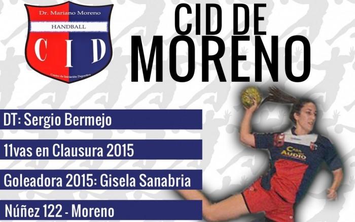 Guía VAVEL LHD 2016: CID Moreno: Antonela Mena y Sergio Bermejo