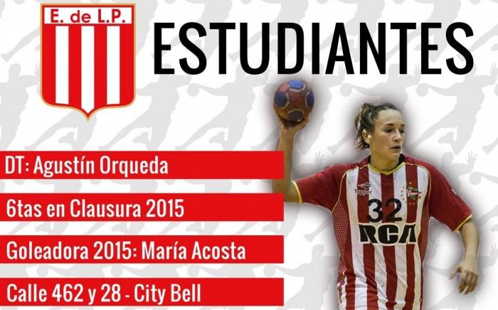 Guía VAVEL LHD 2016: Estudiantes: Macarena Piccinini y Agustín Orqueda