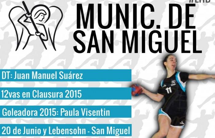 Guía VAVEL LHD 2016: Municipalidad de San Miguel: Paula Visentin y Juan Manuel Suárez