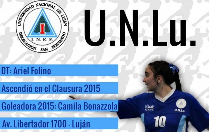 Guía VAVEL LHD 2016: UNLU: Camila Bonazzola