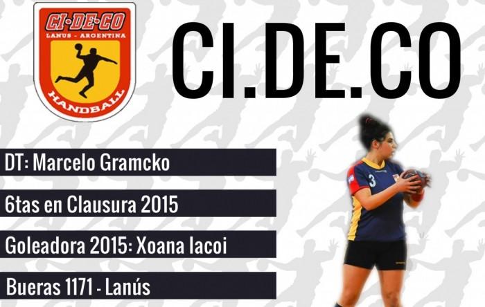 Guía VAVEL LHD 2016: CIDECO: Ivana Eliges y Marcelo Gramcko