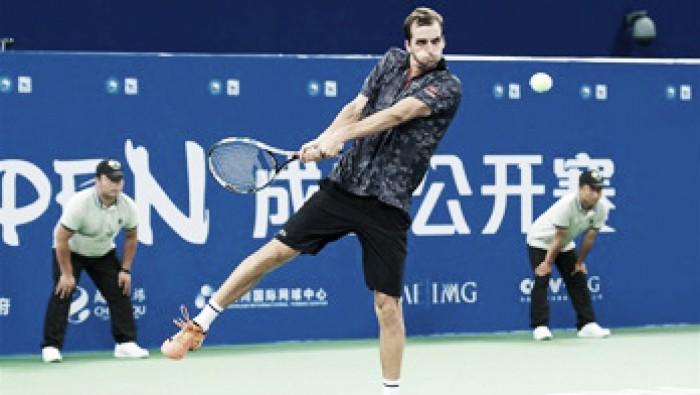Ramos-Vinolas vence Dimitrov e chega à final do ATP deChengdu