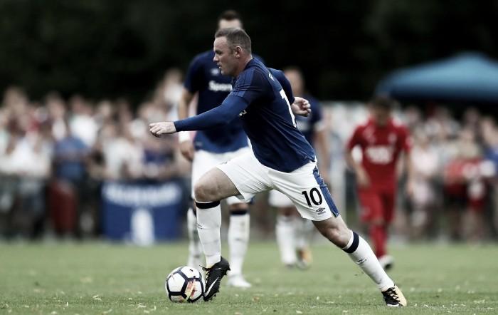 """Wayne Rooney: """"Es genial estar de vuelta en Goodison Park vistiendo la camiseta azul"""""""