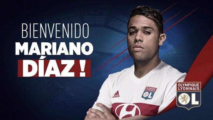 Mariano Díaz es nuevo jugador del Lyon