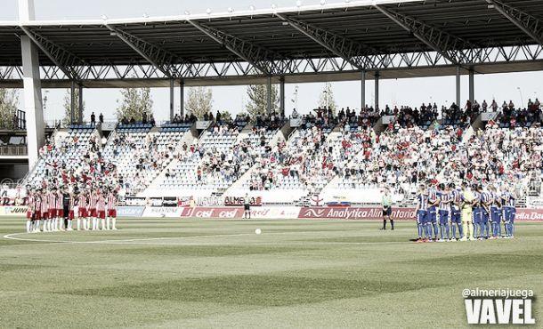 Fotos e imágenes del Almería 0-2 Alavés, jornada 5 de la Liga Adelante