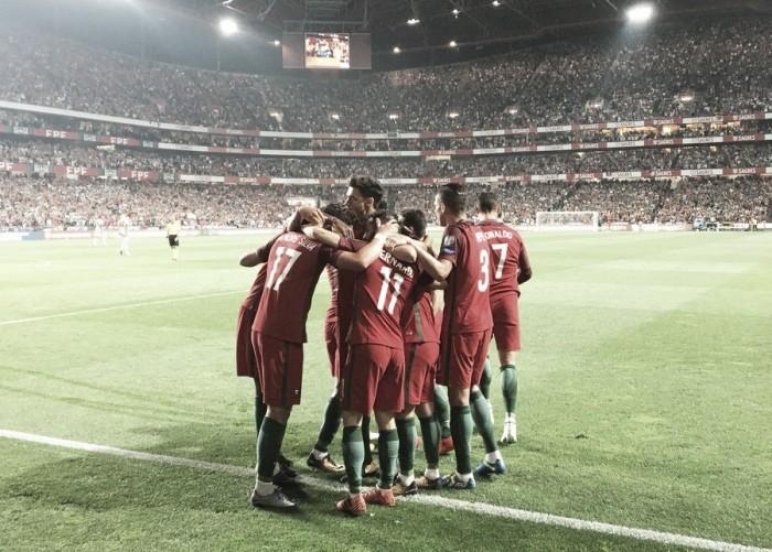 Portugal vence em Lisboa, garante ida à Rússia e manda Suíça para repescagem
