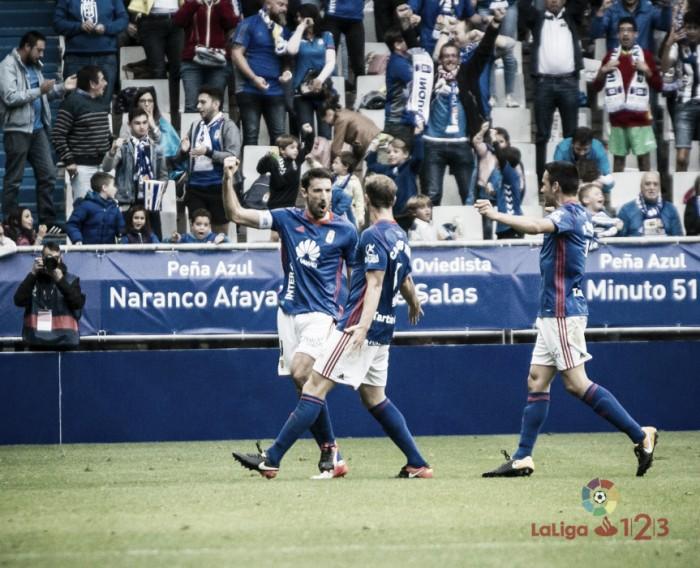 Ojeando al rival: Real Oviedo, ganar para escalar