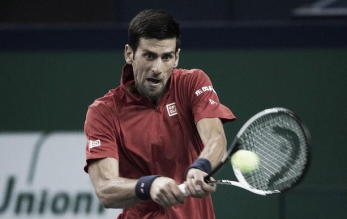 Novak Djokovic passa sem sustos por Pospisil e está nas quartas em Xangai