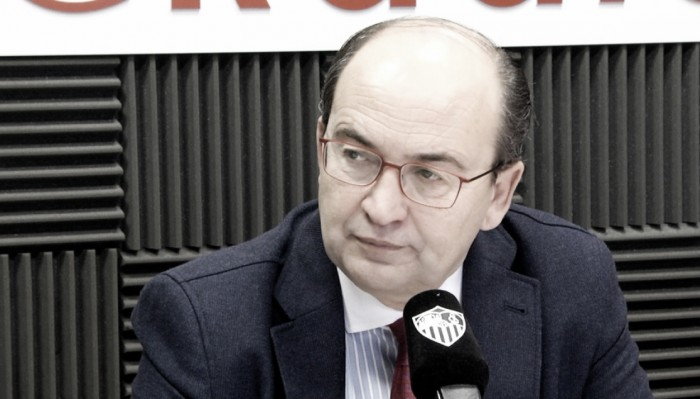 José Castro: ''Vamos a apoyar a Berizzo en todo momento''