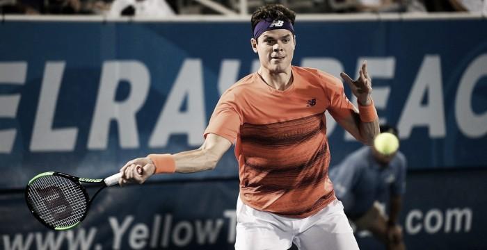 ATP 250 Delray Beach: Raonic leva susto, mas avança para as semifinais