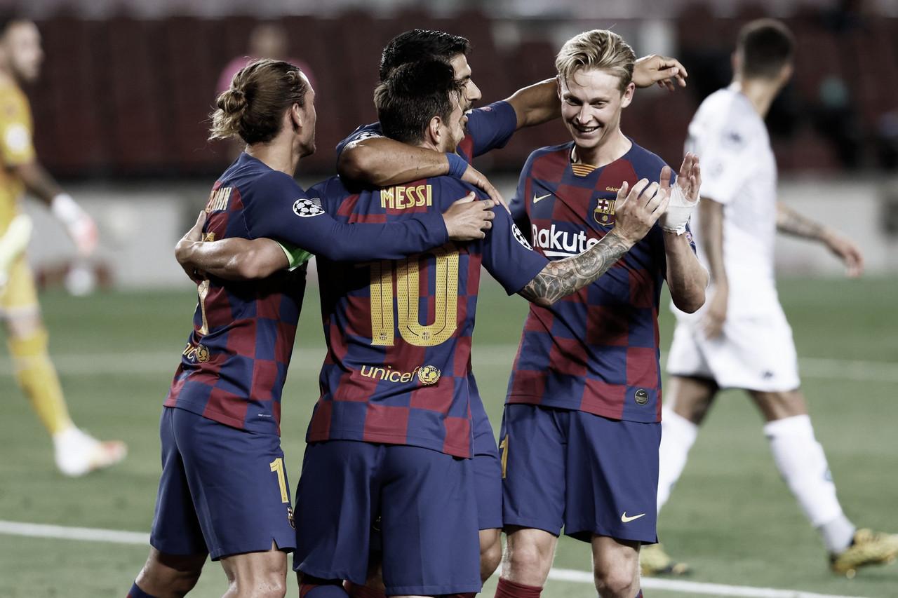 El Barça liquida al Nápoles y mira a Lisboa