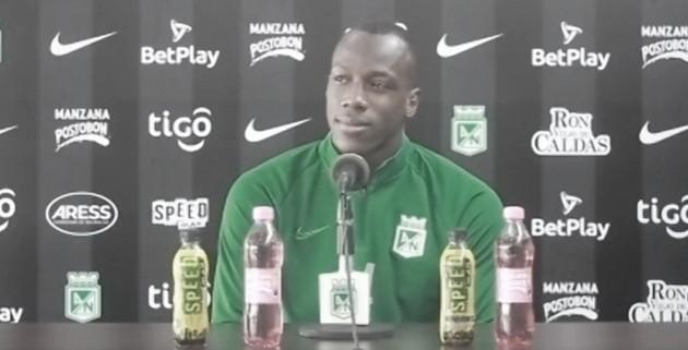 """Baldomero Perlaza: """"Mi cabeza está en Nacional, haciendo las cosas bien"""""""