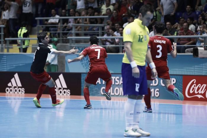Irán elimina a la favorita Brasil