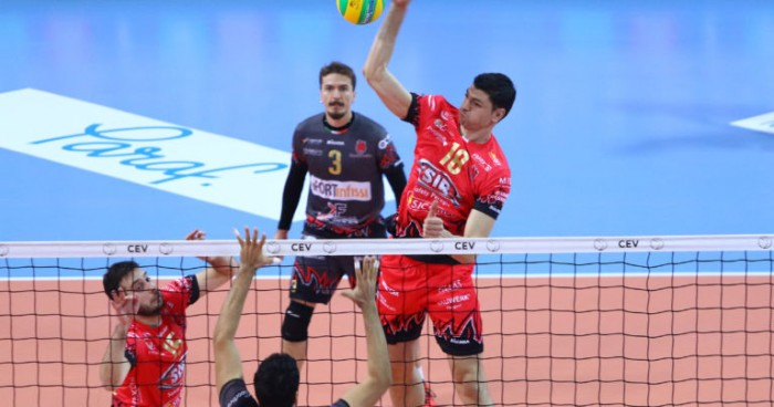 Volley M - La Sir Safety Perugia si impone con autorità ad Ankara in Champions League