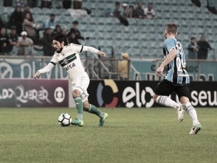 Jogadores do Coxa admitem superioridade do Grêmio e lamentam erros cometidos