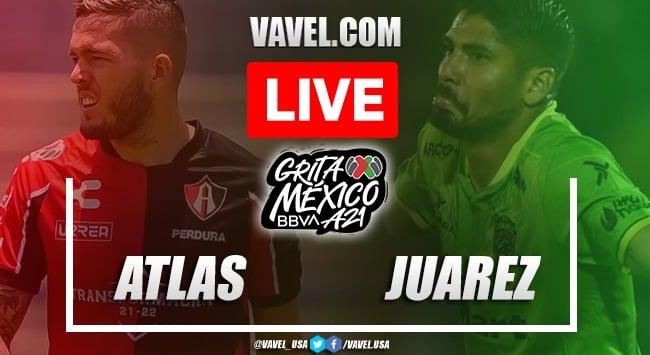 Goals and Highlights: Atlas 2-0 FC Juarez in Liga MX 2021