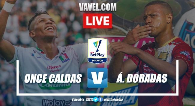 Resumen y goles Once Caldas 1-1 Águilas Doradas en la fecha 4 de la Liga BetPlay 2020-I