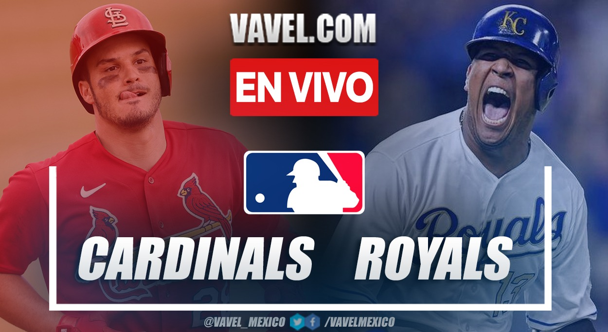 Resumen y carreras: St. Louis Cardinals 6-0 Kansas City Royals en MLB 2021