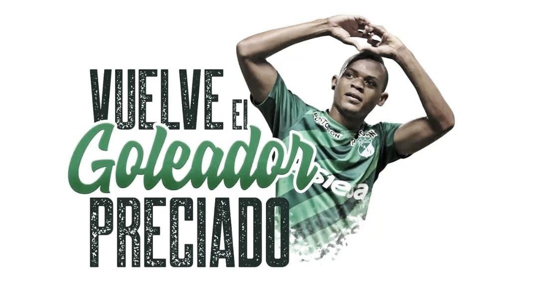 ¡Confirmado! Harold Preciado regresa al Deportivo Cali